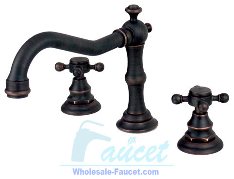 Oil Rubbed Bronze Bathroom Faucet 6021K - Traditional - Bathroom Faucets And Showerheads - by ...