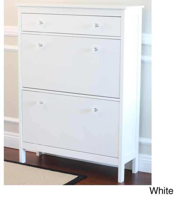 Shoe Cabinet with Storage Drawer - Contemporary - Closet Storage - by ...