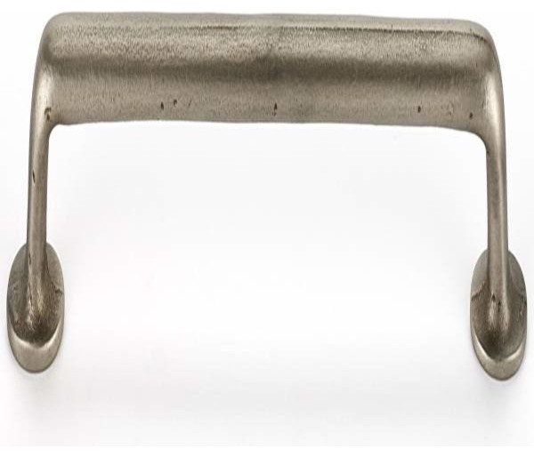 Alno Creations Sierra 12 Inch Pull White Bronze A1409-12-Whbrz - Traditional - Cabinet And ...
