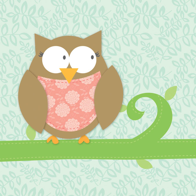 Baby owl wall mural contemporary wallpaper by murals for Baby mural wallpaper