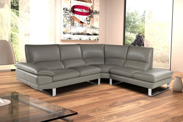 Dave Leather Sofa, Made in Italy - Contemporary - Living Room - miami - by El Dorado Furniture