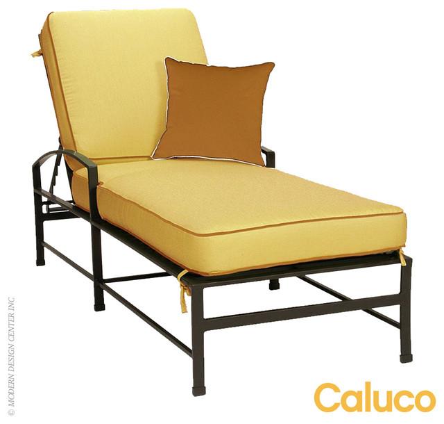 Caluco san michelle single chaise modern chaise longue for Chaise longue tours