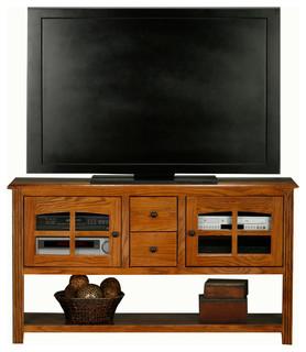 Eagle Furniture Oak Ridge 57 Entertainment Console Sofa