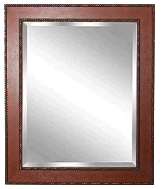 Rayne mirrors western rope wall mirror 26 x30 tropical for Mirror 50 x 30
