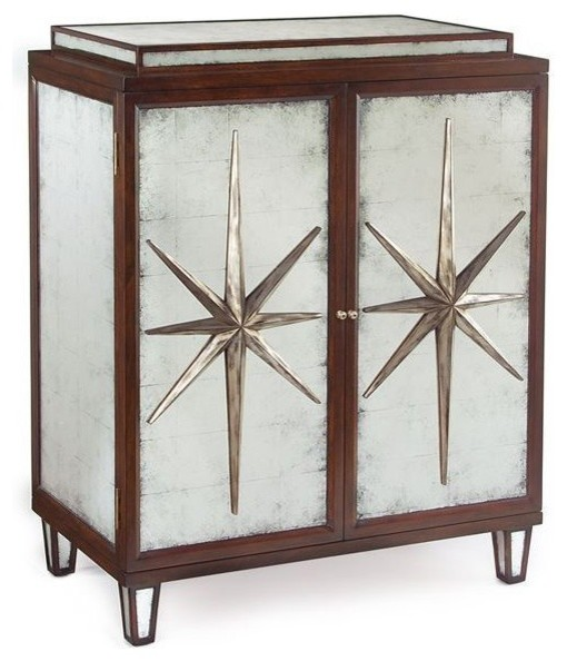 John Richard Starburst 2-Door Cabinet - Contemporary - Accent Chests And Cabinets - by Unlimited ...