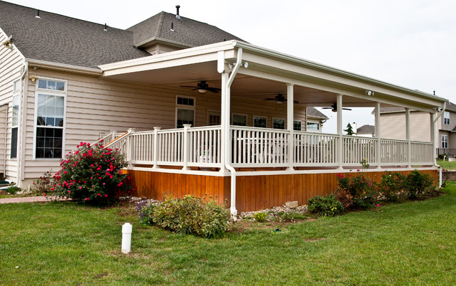 Beautiful Covered Porch
