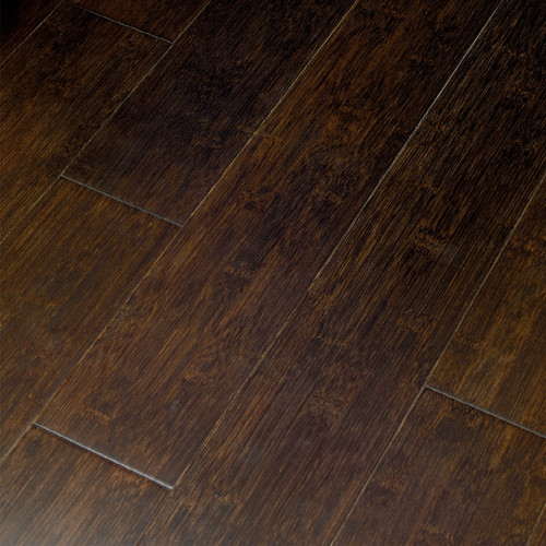 Exotic Locking Bamboo Hardwood Flooring Contemporary