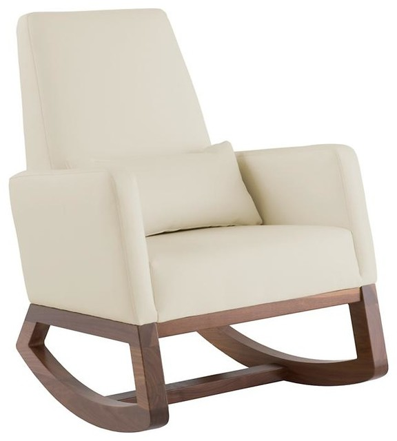 Joya Rocker Stone Modern Rocking Chairs By The Land Of Nod