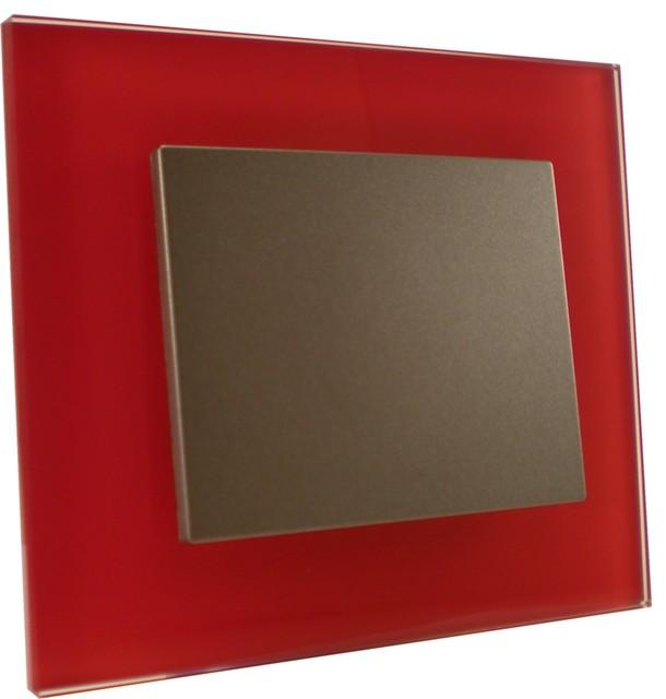 gamme verre contemporain interrupteur et prise. Black Bedroom Furniture Sets. Home Design Ideas