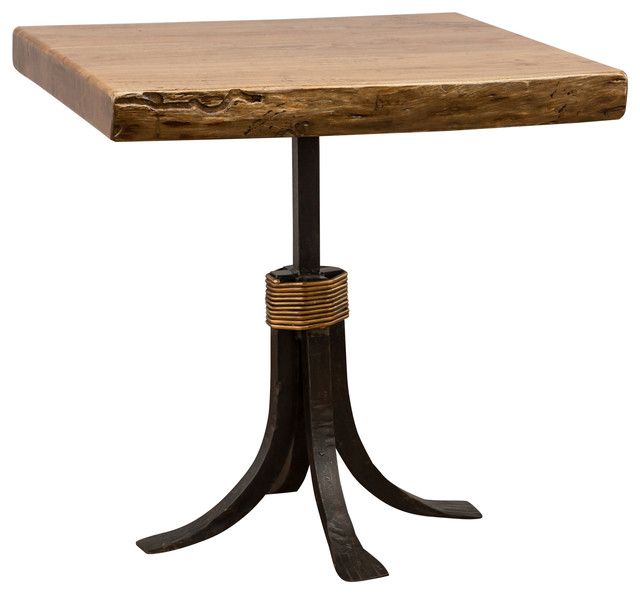 Monterrey Square End Table, Antique Gold contemporary-side-tables-and ...