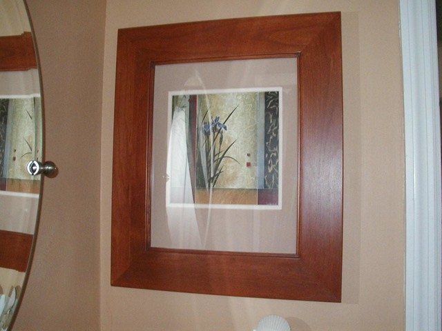 Recessed Picture Frame Medicine Cabinets with No Mirrors - Bathroom Cabinets And Shelves - Los ...