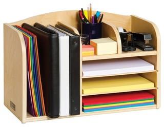 Desk organizer high contemporary desk accessories by - Modern desk accessories and organizers ...