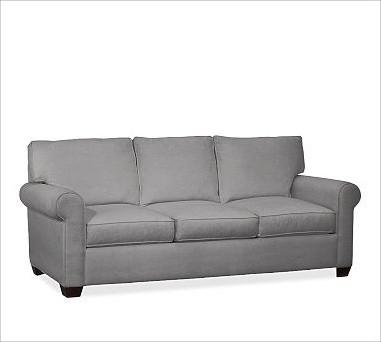 Buchanan Upholstered Sofa Polyester Wrap Cushions