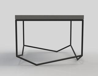 table basse 39 la b ton carr e 39 contemporain table basse par malherbe edition. Black Bedroom Furniture Sets. Home Design Ideas