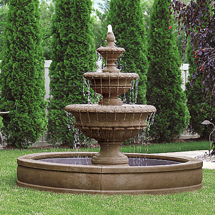 Fountain Designs In Outdoor : All Products / Outdoor / Outdoor Decor / Outdoor Fountains & Ponds