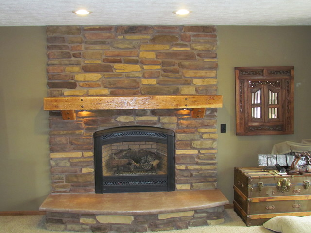 Fireplace Remodel Omaha By Jim Geiger Son Construction Inc