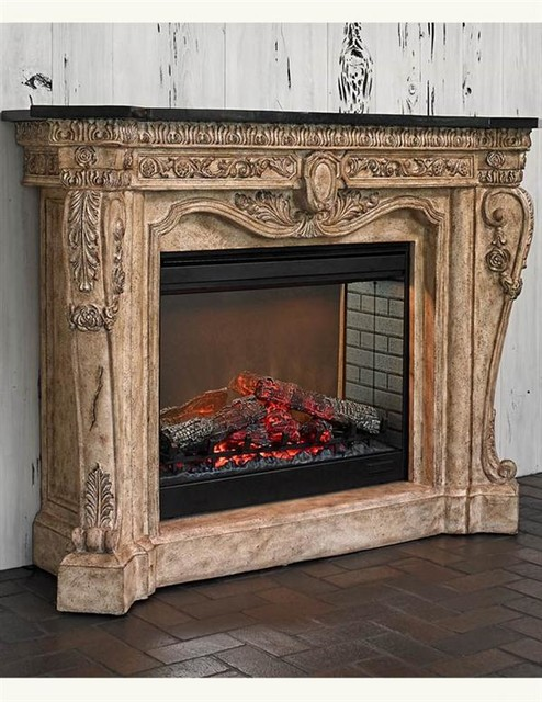 Versailles Electric Fireplace Victorian Indoor Fireplaces Kansas City By Victorian