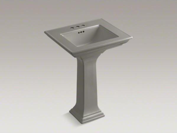 Kohler Memoirs Pedestal Sink : KOHLER Memoirs(R) Stately 24