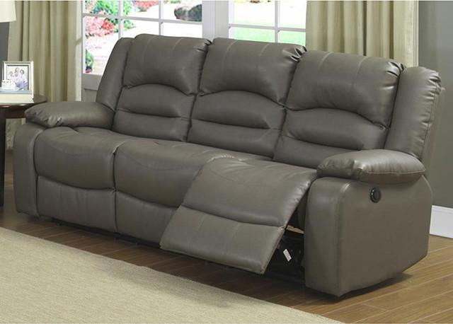 Axle dual reclining power sofa contemporary sofas by for Contemporary reclining sofas