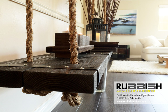 Swing Bench Dining Benches San Diego By Rubbish