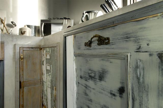 Cucina legno di recupero e muratura   shabby chic style   other ...