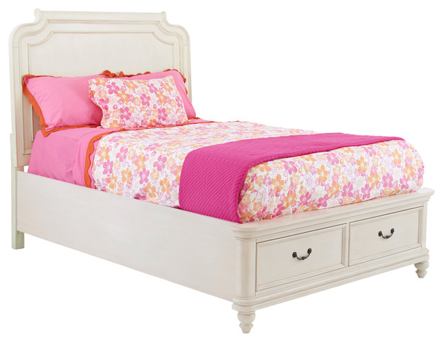 Pulaski Madison Youth Upholstered Bed With Storage Twin Traditional