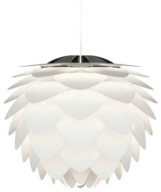 suspension design silvia s 34cm couleur blanc scandinave suspension luminaire par. Black Bedroom Furniture Sets. Home Design Ideas
