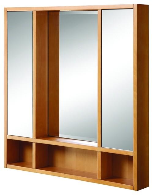 Decolav 9713-MPL Tyson Medicine Cabinet in Maple ...