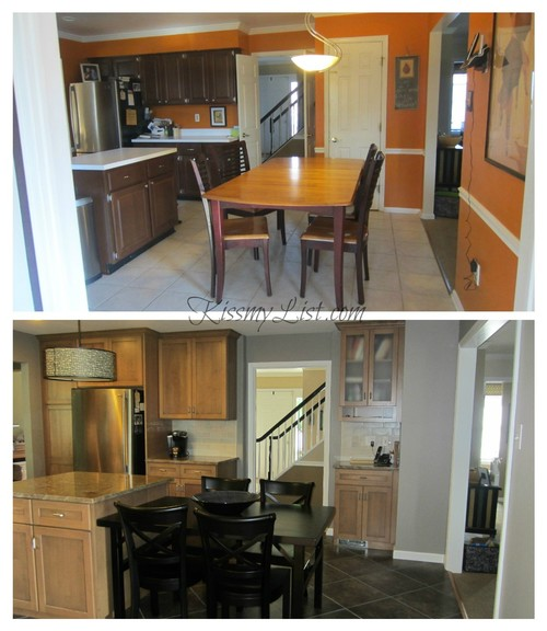Complete Kitchen Remodel Before And After