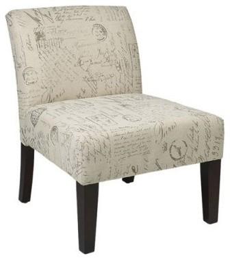 Ave Six Lag51 S13 Script Laguna Chair Modern Armchairs