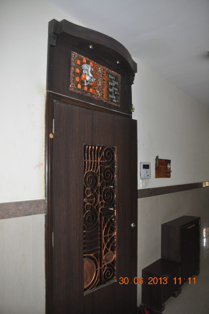 Mumbai Apartment Contemporary Entry Other Metro By