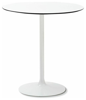 Crown t round bistro table by domitalia modern dining for Domitalia stone t dining table