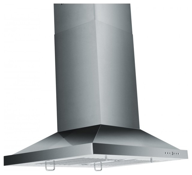 Zlgl2i Island Mount Range Hood 42 Chimney Short Kit