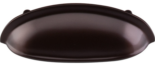 """Somerset Cup Pull, Oil-Rubbed Bronze, 3"""" - Traditional - Cabinet And Drawer Handle Pulls - by ..."""