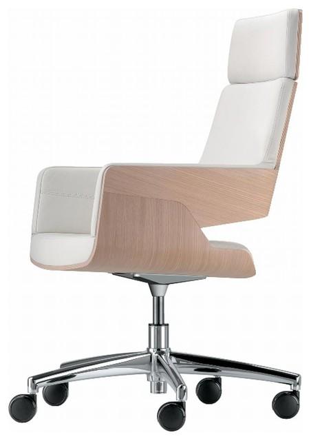 thonet s 843 dre b rostuhl hoch mit rollen bauhaus look. Black Bedroom Furniture Sets. Home Design Ideas