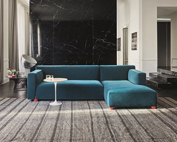 Knoll Barber Osgerby Sofa With Left Chaise Longue Modern Sectional Sofas London By Nw3