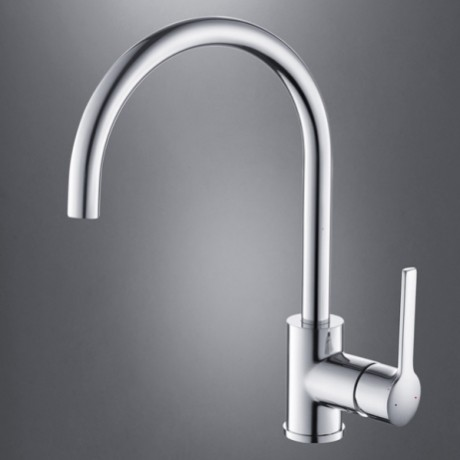 jollyhome kitchen faucet with swivel spout polished chrome. Black Bedroom Furniture Sets. Home Design Ideas