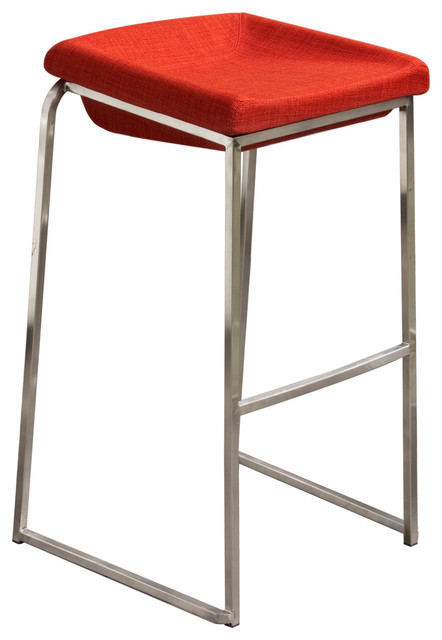 Contemporary Bar Stools With Stainless Steel Base Set of  : bar stools and counter stools from houzz.com size 442 x 640 jpeg 41kB