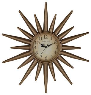 Retrostar Clock - Modern - Wall Clocks - by LexMod
