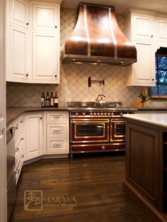 mediterranean copper appliances kitchen design ideas remodels