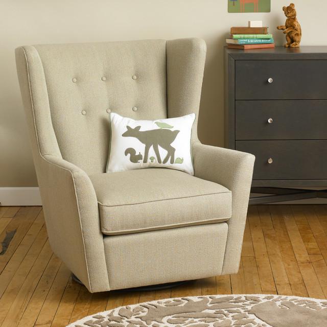 DwellStudio Furniture Myles Glider - Modern - Paintings - by Layla ...
