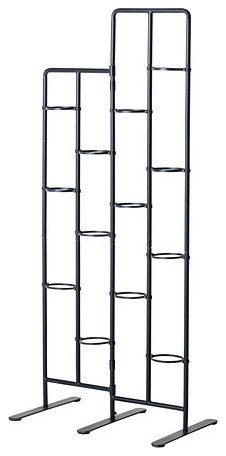 Socker plant stand contemporain porte plante et table for Meuble porte plante ikea