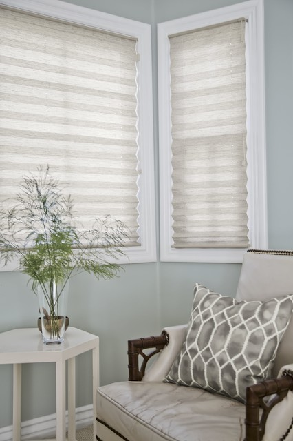 Smith and noble classic pleated shades beach style for Smith and noble shades