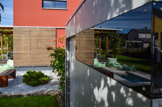 augsburg design gartenhaus gart sichtbeton. Black Bedroom Furniture Sets. Home Design Ideas