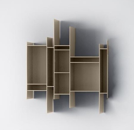 randomito wandregal modern display wall shelves by. Black Bedroom Furniture Sets. Home Design Ideas