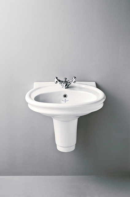 Hillingdon 60cm Basin And Semi Pedestal Traditional