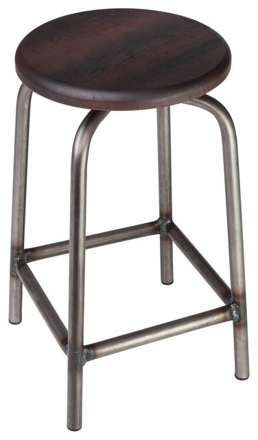 swivel pub stool 24 quot h contemporary bar stools and