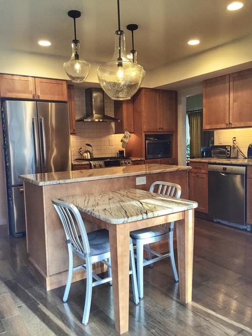 Brady Bunch kitchen remodel