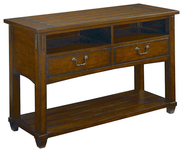 Hammary Tacoma Rectangular Console Table Traditional