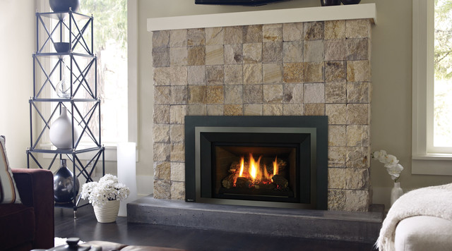 Regency Liberty Lri4e Gas Fireplace Insert Traditional Indoor Fireplaces Vancouver By